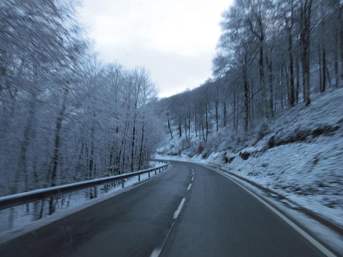 Eis Pass Schnee
