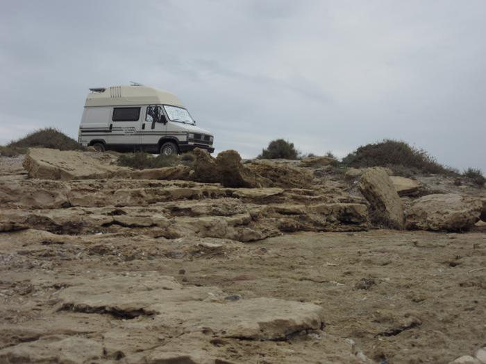 Süd Spanien frei stehen Natur
