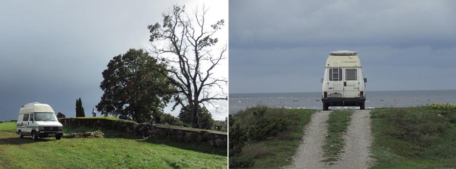 frei stehen, Friedhof, Meer, Saaremaa