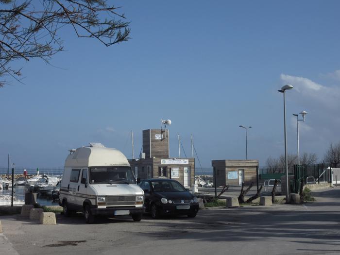 La Capte Hafen frei stehen
