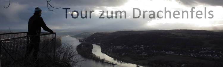 Drachenfels Königswinter Wandern Rhein