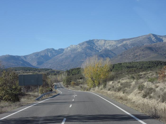 Gredos La Vera Berge Natur