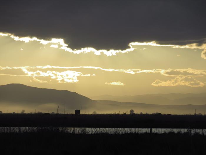 Sunset Ebro Delta