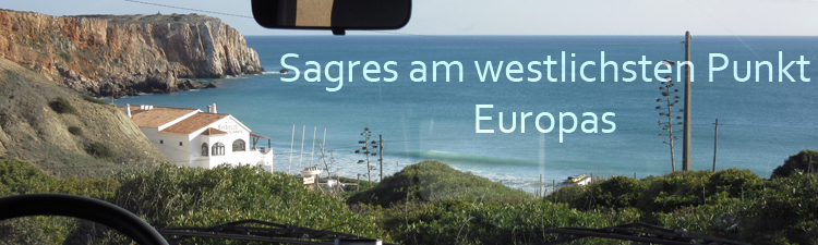 Sagres Camper Surfen Atlantik frei stehen
