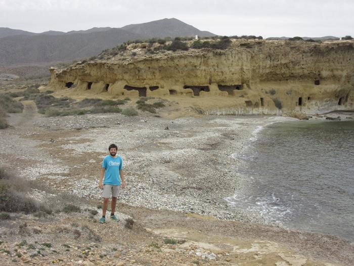 Spanien Wandern Höhlen am Meer Natur