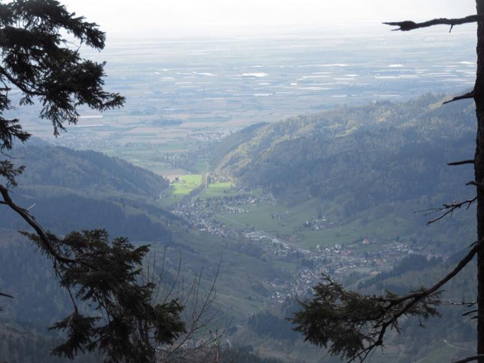 Schwarzwald Tal Ausblick