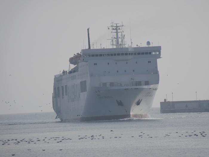 Fähre Malaga Meer