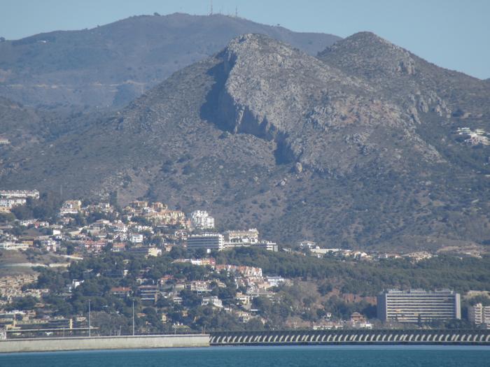 Malaga Küste Meer Mittelmeer