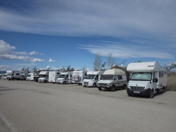 Stellplatz Ebrodelta Wohnmobile Spanien