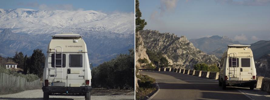 Andalusien, Sierra Nevada, Freiheit, Ausblick, Berge
