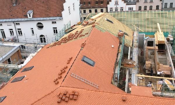 Dachdeckerarbeiten