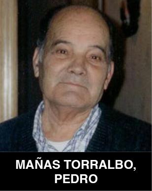 Pedro Mañas Torralbo