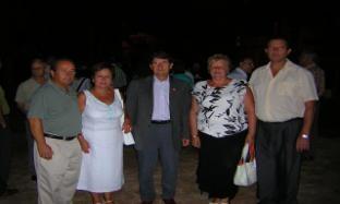 Con el Sr. Tejedor, Alcalde del Prat de Llobregat.