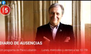 Diario de ausencias presentado por Paco Lobatón