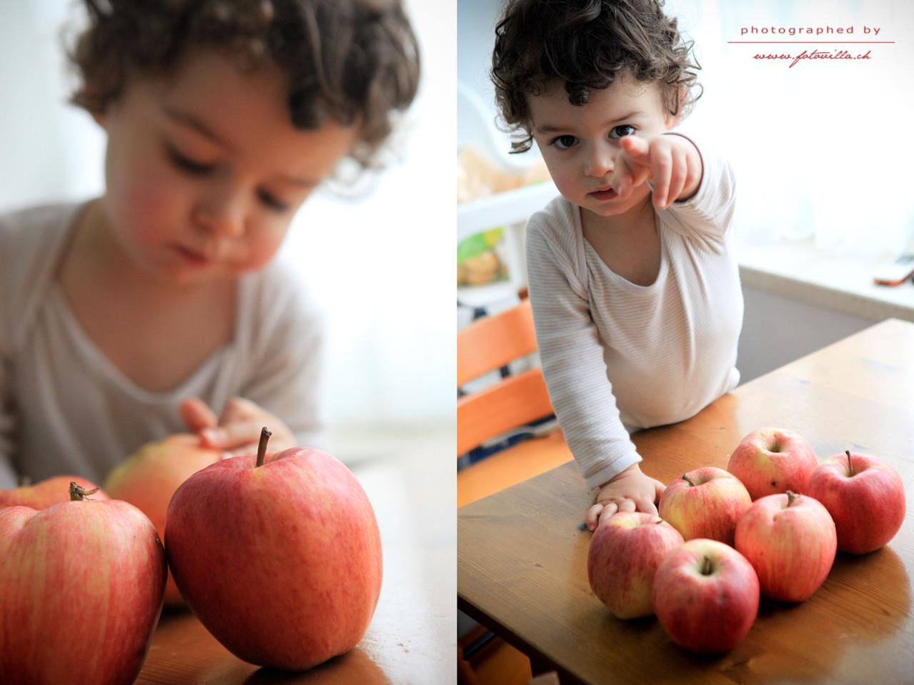 Ein paar Äpfel und nun kann es los gehen - bist du dabei?