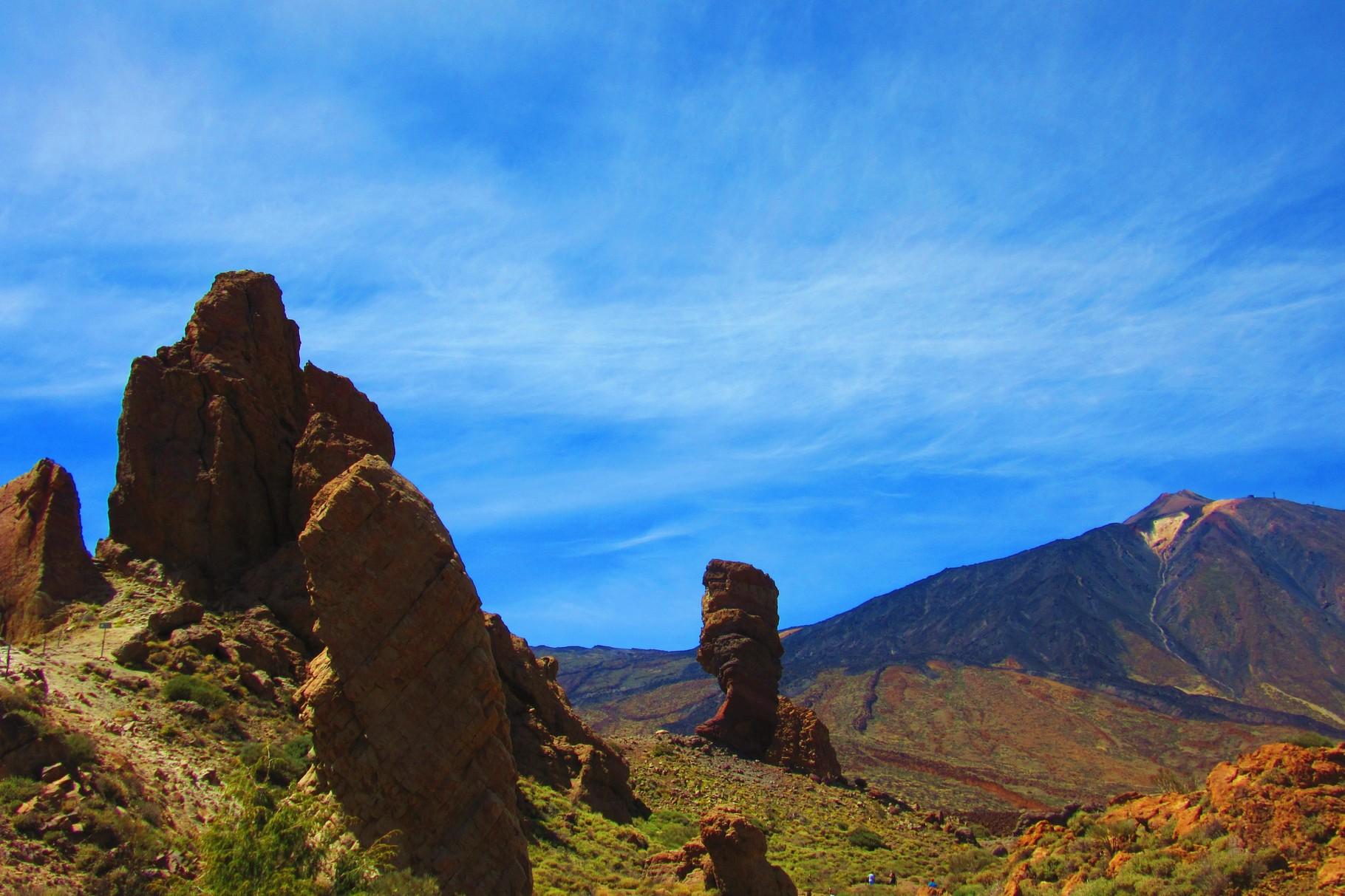 Tenerife , le massif du Teide ( 3782 m )