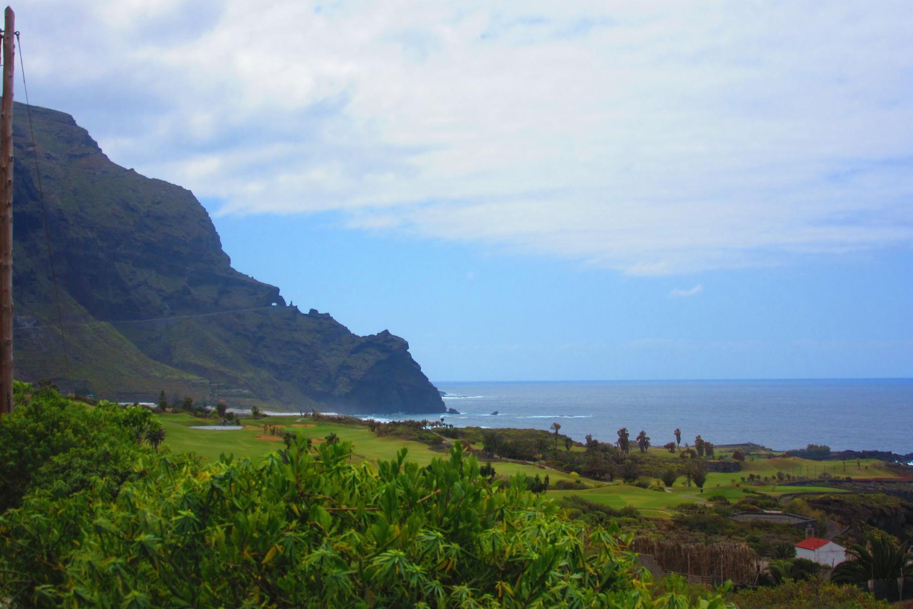 Tenerife , un volcan dans la mer !