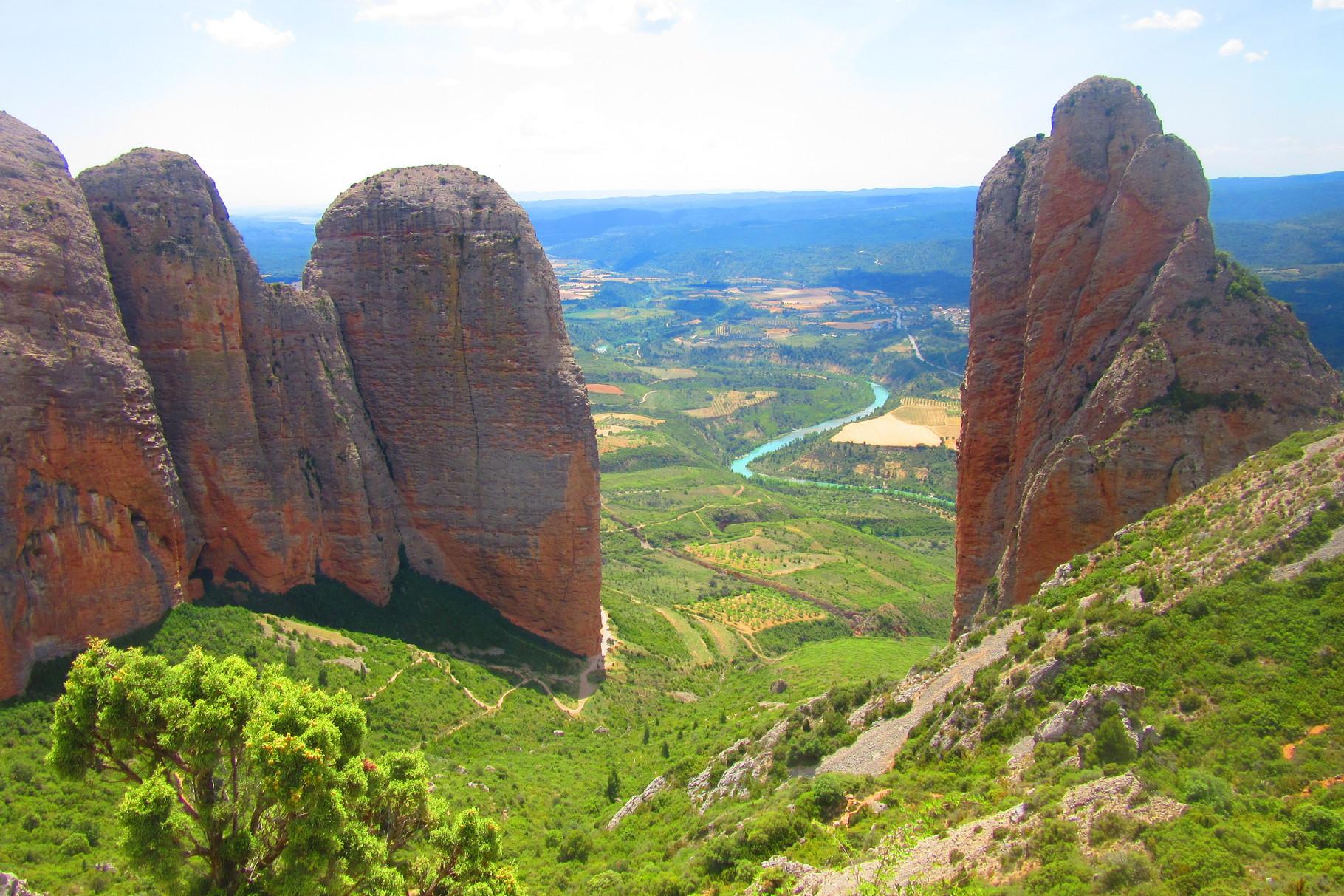 Portes ouvertes à... Los mallos de Riglos ( Aragon )