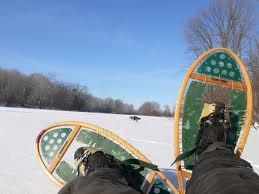 Raquettes à neige - Après l'effort ...