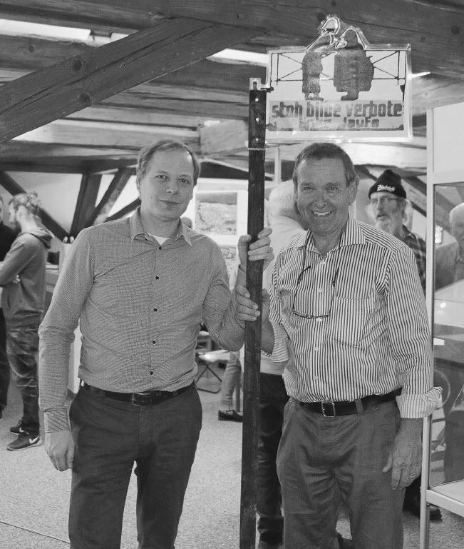 links Martin Zulauf, rechts Peter Loosli
