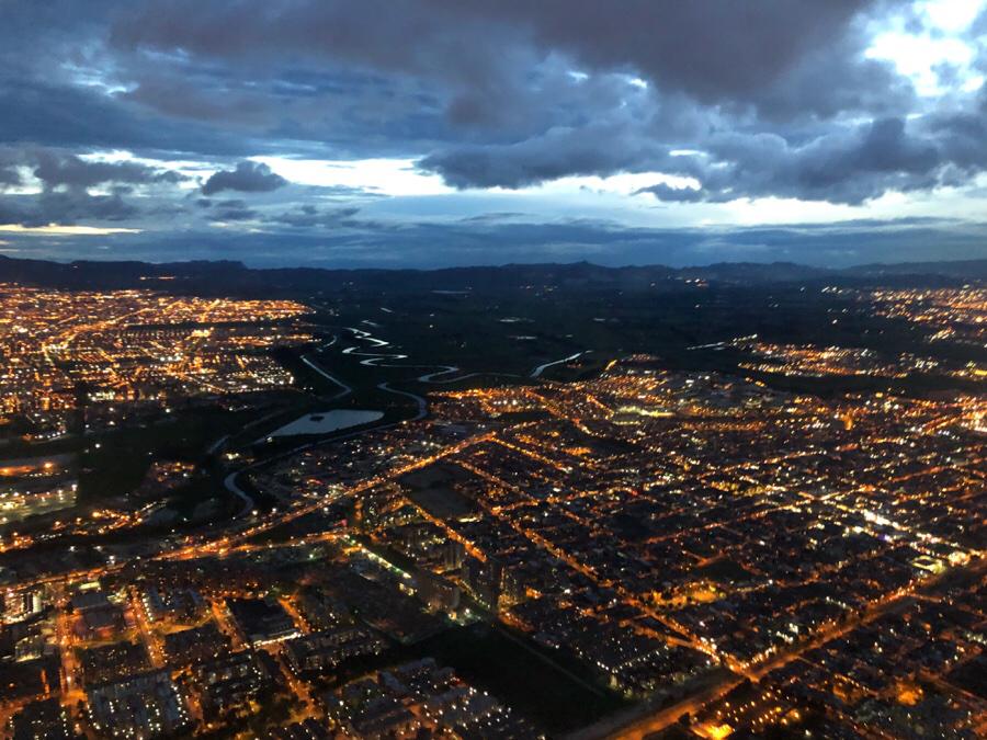 Bogotá by night...