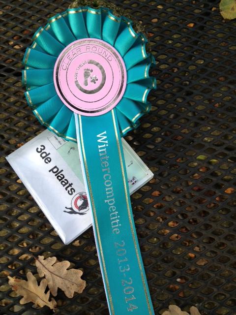 Wintercompetitie Bunschoten - 3e prijs VP open klasse