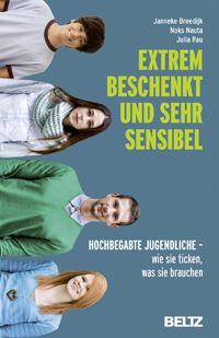Buchcover: Extrem beschenkt und sehr sensibel - Hochbegabte Jugendliche