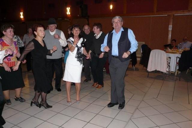 Après l'osso bucco, nous dansons de nouveau.