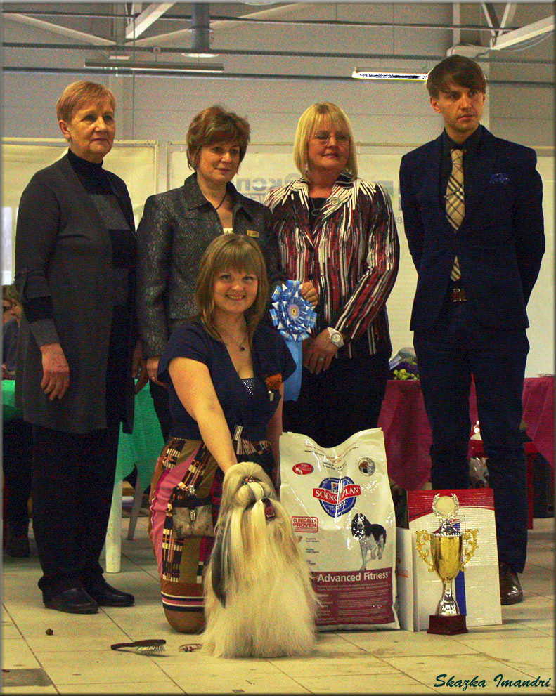 30.03.14г.С-Пб(САС),эксп.Сенашенко Е.В. S.I.BARIN-BIG,Best in Show-1 !!!!!