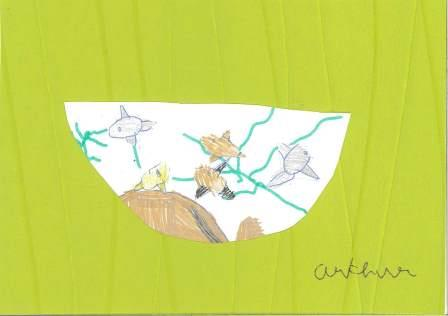 poissons à la manière de Clémence G. par Arthur