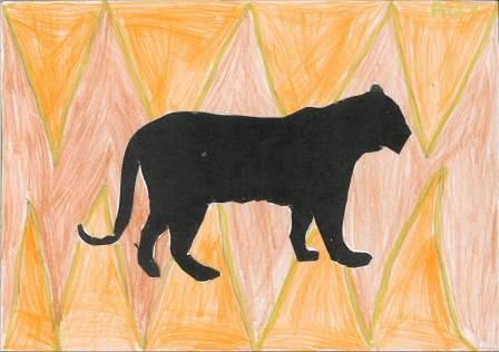 silhouette d'animal par Alix