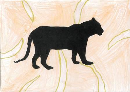 silhouette d'animal par Yixin