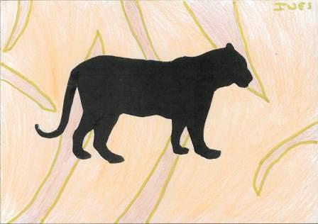 silhouette d'animal par Inès