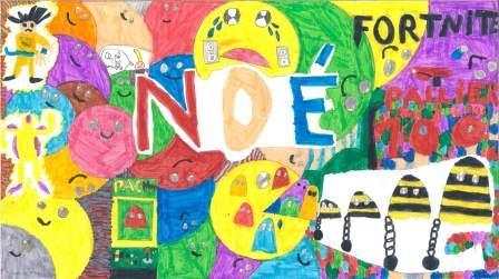 Doodle Art par Noé