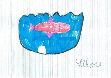 poissons à la manière de Clémence G. par Lilou
