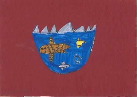 poissons à la manière de Clémence G. par Anna