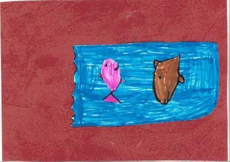 poissons à la manière de Clémence G. par Maxence