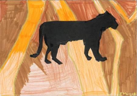 silhouette d'animal par Emilio