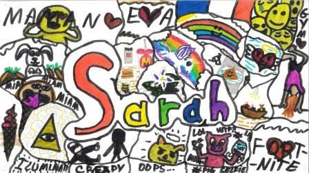 Doodle Art par Sarah