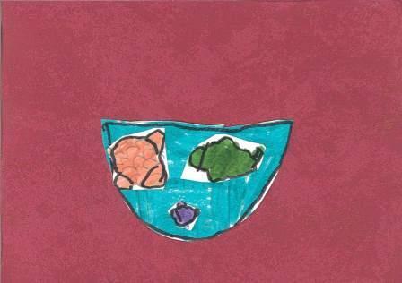poissons à la manière de Clémence G. par Sarah