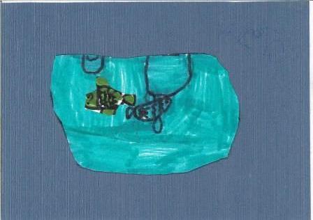 poissons à la manière de Clémence G. par Tom