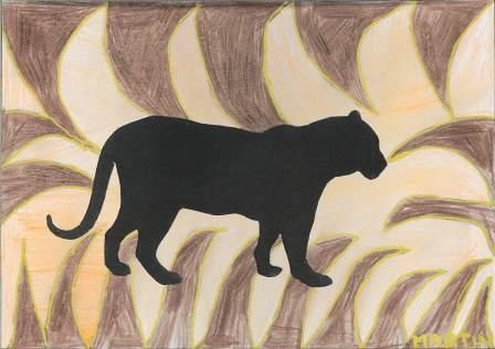 silhouette d'animal par Martin