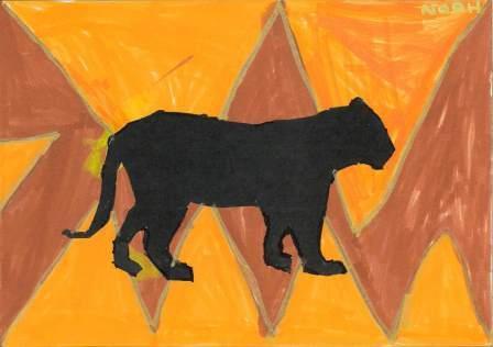 silhouette d'animal par Noah