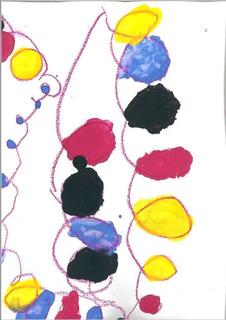 Travail autour des spirales : à la manière de Calder