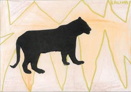 silhouette d'animal par Zalina
