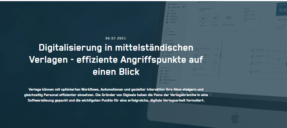 Digitalisierung in mittelständischen Verlagen - effiziente Angriffspunkte auf einen Blick