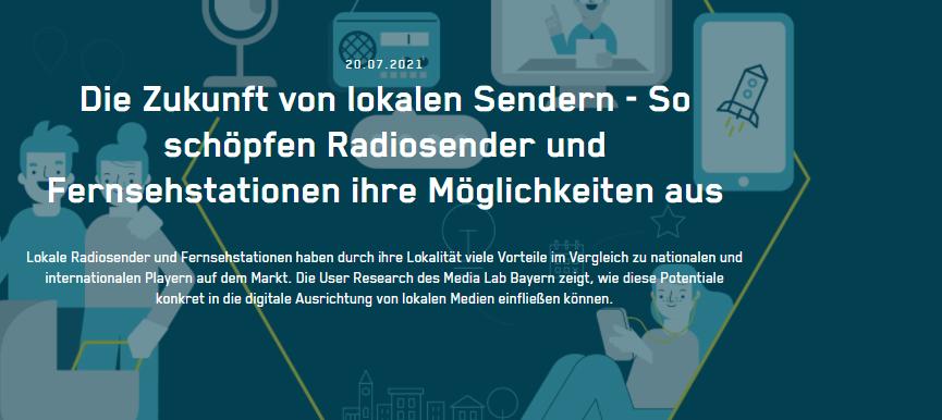 Die Zukunft von lokalen Sendern - So schöpfen Radiosender und Fernsehstationen ihre Möglichkeiten aus
