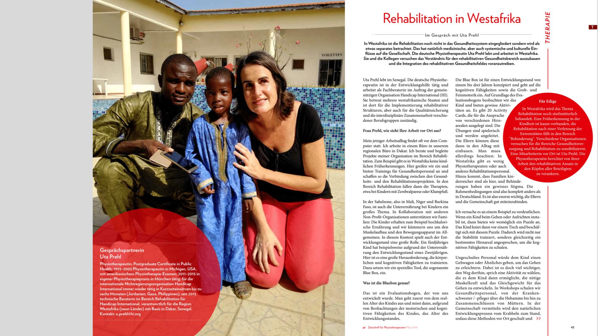 Gesundheitssystem in Westafrika