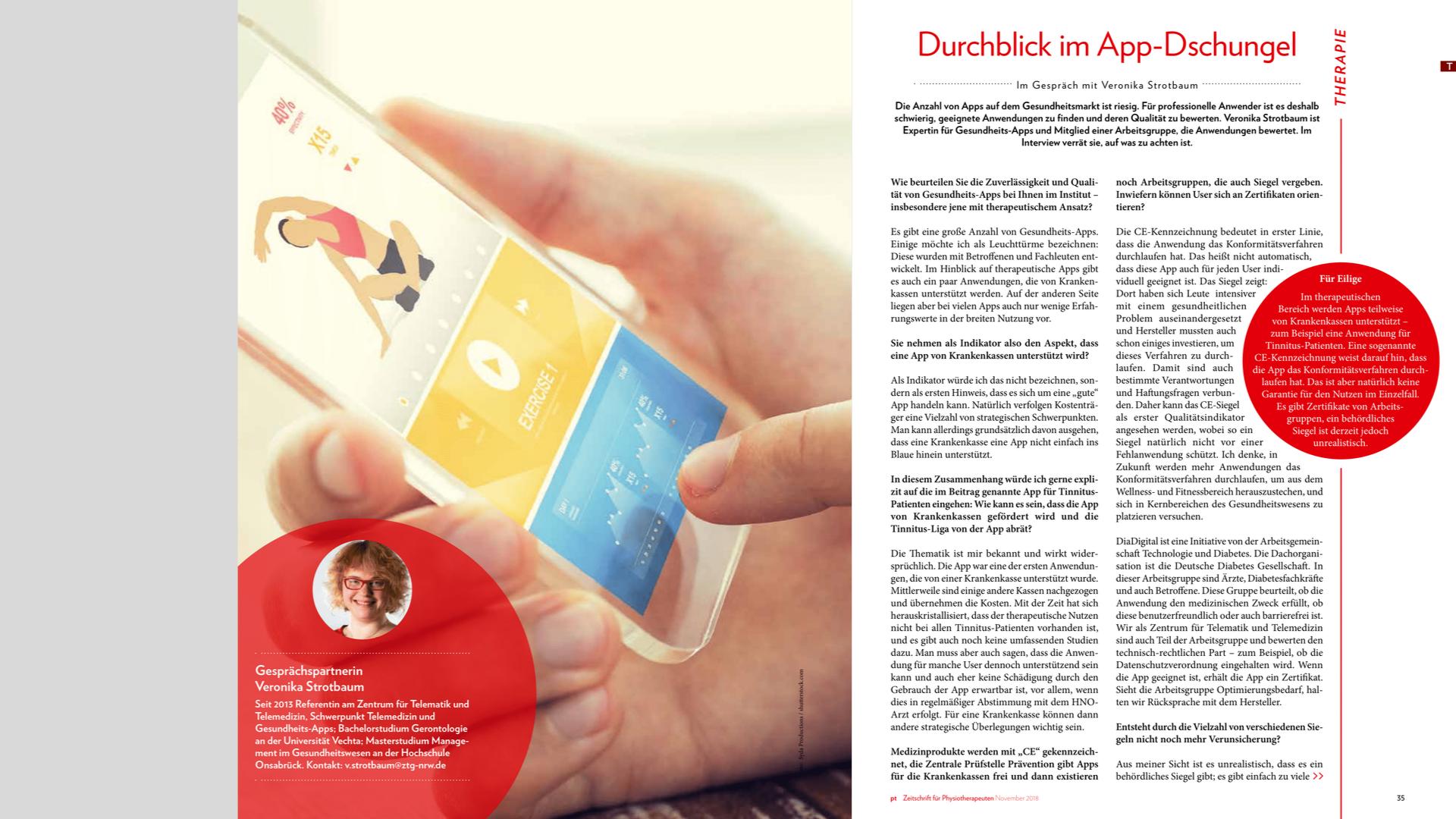Interview Mobile Anwendungen