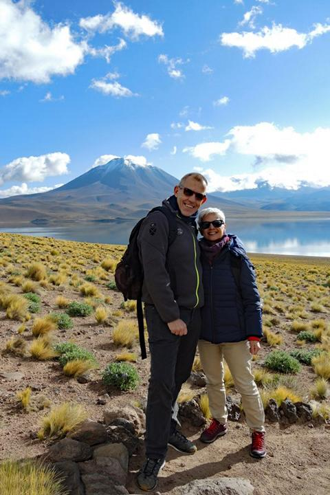 """Martin and Maria Z.: """"Without the exact local knowledge, the perfect organization and the optimal time management of Chile Central this trip would not have been possible."""""""